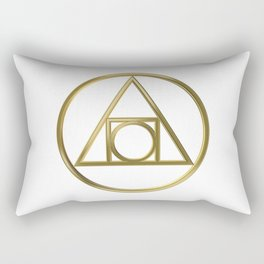 Alchemical symbol Rectangular Pillow
