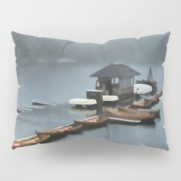 Foggy Morning At The Lake Pillow Sham