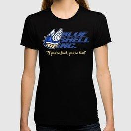 Mario Kart: Blue Shell Inc (no distressing) T-shirt