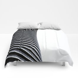 Abstract Architecture Curves Comforters