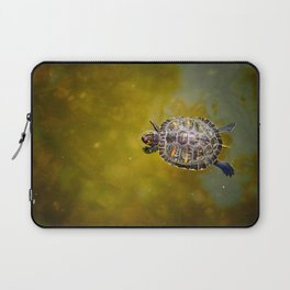 The journey of a baby turtle Laptop Sleeve