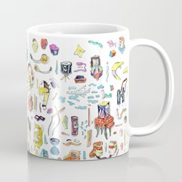 Maximal drawing Coffee Mug