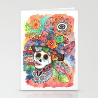 lee pace Stationery Cards featuring Social Pace by Adrienne S. Price