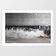 Decaying Wall Art Print