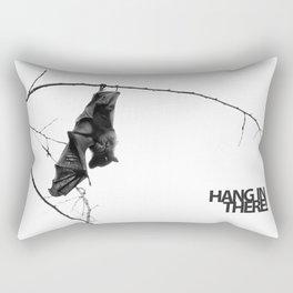 Hang in there! Little bat! Rectangular Pillow