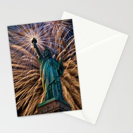 Liberty Fireworks Stationery Cards
