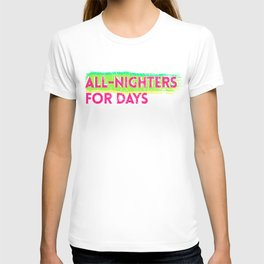all-nighters T-shirt