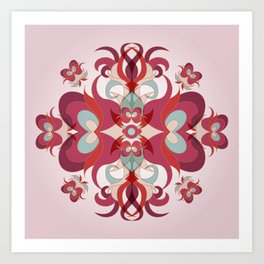 Vinally Art Print