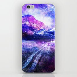 Abstract Mountain Landscape iPhone Skin