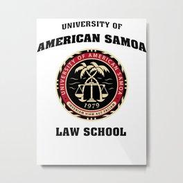 University of American Samoa Metal Print