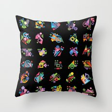 Seeds (Graines) Throw Pillow