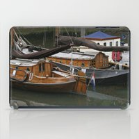 boats iPad Cases featuring Boats by constarlation