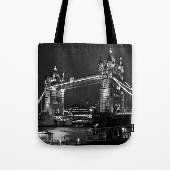 Tower Bridge Tote Bag