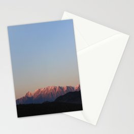 Sunset on the White Mountains Stationery Cards