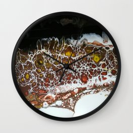 A Rocky Road Wall Clock