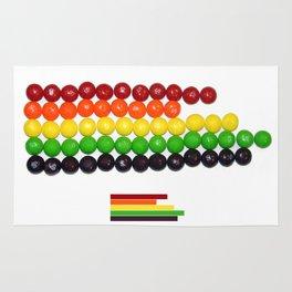Skittle Stats Rug
