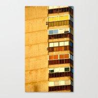 building Canvas Prints featuring Building by Rivière