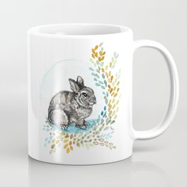 Rustic Rabbit Coffee Mug