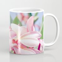 aloha Mugs featuring Aloha by Sharon Mau