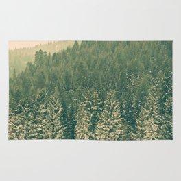 Christmas Trees Rug