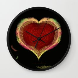 Cupids Nest 033 Wall Clock