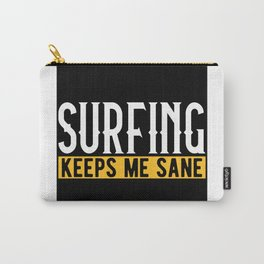 Surfing Lovers Gift Idea Design Motif Carry-All Pouch