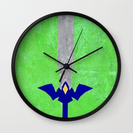Master Sword Wall Clock