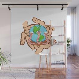 Earthworm Recycler's World Wall Mural