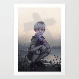A Real Boy Art Print