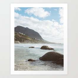 This must be the place- Cape Town Art Print