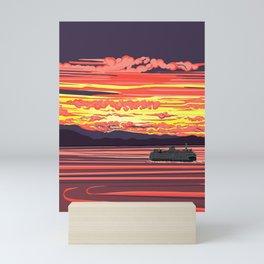 Ferry Ride Mini Art Print