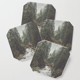 Mountain creek - Landscape and Nature Photography Coaster
