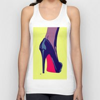 shoe Tank Tops featuring Shoe by Giuseppe Cristiano