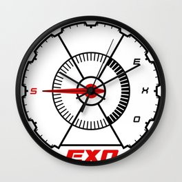 EXO Don't mess up my tempo logo Wall Clock
