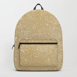 Pastel Camel Glitter Backpack
