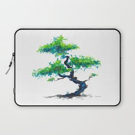 Blue Bonsai Laptop Sleeve