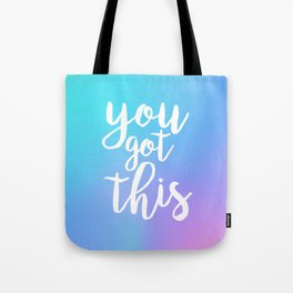 You Got This - Holographic Tote Bag