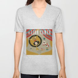 Lion Tamer Unisex V-Neck