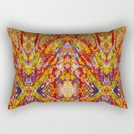 Carnival of Leaves Rectangular Pillow