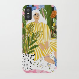 The Jungle Lady iPhone Case