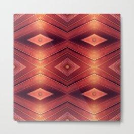 Homage to Woodwork Metal Print