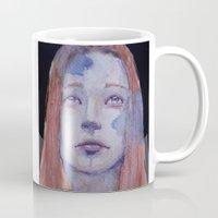 redhead Mugs featuring Redhead by SirScm