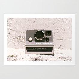 The Button, 1981 Art Print