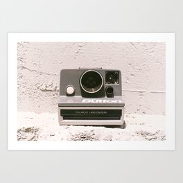 The Button, 1981 Art Print
