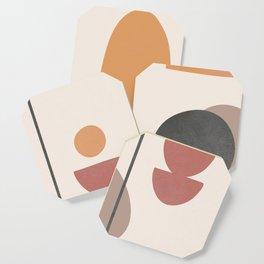 Abstract Minimal Art 02 Coaster