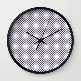 Imperial Palace Polka Dots Wall Clock