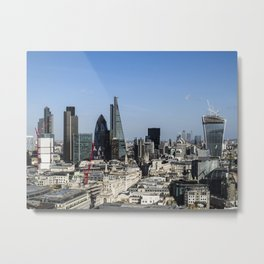 The City of London Metal Print