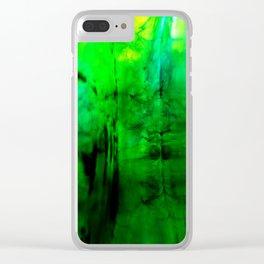 Blobs Clear iPhone Case