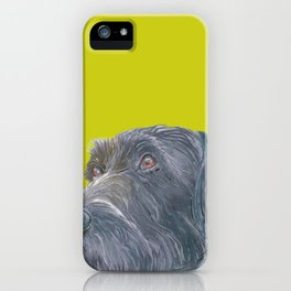 Pointer printed from an original painting by Jiri Bures iPhone Case
