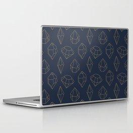 Gemstone I - Navy Laptop & iPad Skin